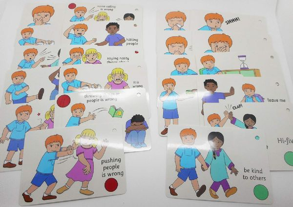 Social Skill Visual Picture Keyring